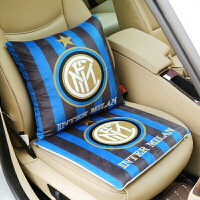 皇马巴萨红魔阿森纳利物浦足球球迷汽车内靠抱枕坐垫家用礼物男友