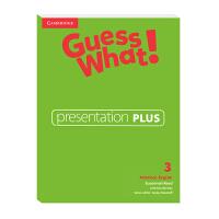 Guess What! American English Level 3 Presentation Plus 互动白板软