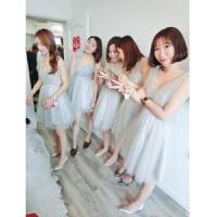伴娘礼服长款敬酒宴会晚礼服伴娘裙伴娘团姐妹裙短款礼服裙伴娘服