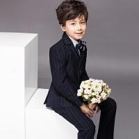 儿童礼服韩版小西装男童套装演出服花童西服钢琴主持人春款5078