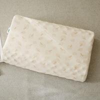 NAYAGOM彩棉夏季儿童泰国乳胶枕头枕头套橡胶记忆枕套 树叶 提花