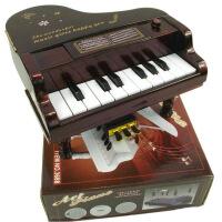?迷你新款塑料小摆件婴幼儿童乐器音乐玩具仿真钢琴可弹奏六一礼物