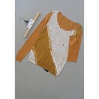 宛[T61-207]专柜品牌正品新款女装毛衣打底上衣针织衫0.14KG