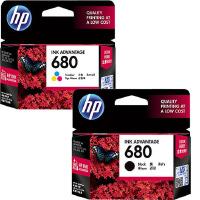 原装正品 惠普/HP 680(F6V26AA)黑色墨盒 (F6V27AA)彩色墨盒 惠普680 HP680 适用于惠普