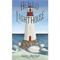 【现货】英文原版 你好 灯塔 Hello Lighthouse 2019年凯迪克金奖 精装绘本 苏菲 布莱克尔 5-8