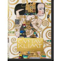 英文原版 克林姆特全集素描油画 Gustav Klimt 精装超厚艺术画册画集 TASCHEN 塔森 进口书籍 正版