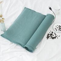 荞麦枕芯颈椎枕头修复颈椎牵引护颈枕单人圆形加热枕 套枕