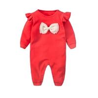 婴儿童连体衣服0-1岁3个月女宝宝秋季新生儿衣服秋冬装长袖连体衣