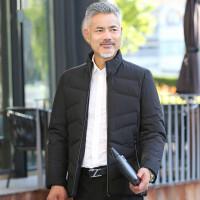 中年男装棉袄外套加厚冬季新款中老年人棉衣男爸爸装立领保暖