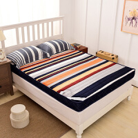 床垫加厚1.5m床1.8米1.2学生宿舍可折叠榻榻米双人床褥子海绵垫被