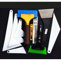 汽车贴膜工具牛筋刮板大中小刮板硬刮板软刮板 进口烤膜钢刮板t