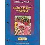 【预订】Holt People, Places, and Change: Vocabulary Activities: