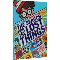 威利在哪里 英文原版绘本 Where's Waldo? The Search for the Lost Things