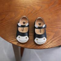 女小童单鞋2019春款韩版卡通公主皮鞋软底婴儿学步鞋0-1-2岁