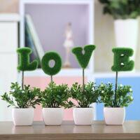 家居家居摆件仿真花套装 装饰花假花盆栽盆景植物客厅绿植装饰品摆件