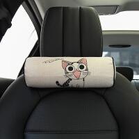 汽车头枕卡通记忆棉枕头车载汽车用品车内车上座椅颈椎靠枕SN5785