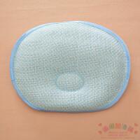 婴儿枕头夏款 夏款新生儿定型枕宝宝夏季凉枕初生婴儿宝宝枕头防偏头用品A