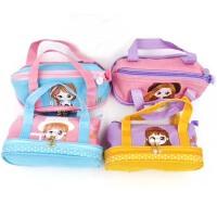 新款创意流年花女孩学生笔袋 手提笔袋 收纳袋 颜色*