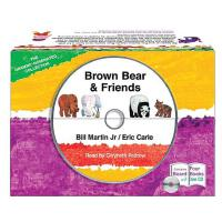 Eric Carle: Brown Bear & Friends [With CD (Audio)] 艾瑞・卡尔:棕熊