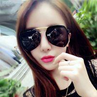 新款欧美时尚太阳镜女潮3003 复古灰蚂蚁太阳眼镜炫彩墨镜