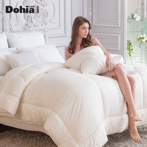 多喜爱加厚保暖春秋被单双人冬被芯被子床上用品柔情蜜语大豆被
