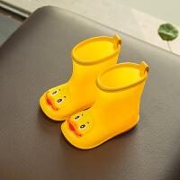 儿童雨鞋1-3岁宝宝雨靴男童女童幼儿胶鞋小孩防滑水鞋小童学生SN9605 内长14.5cm 14