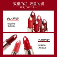 袋鼠妈妈 孕妇口红石榴红3.4g 哺乳怀孕期专用彩妆化妆品滋润护唇双芯 敏感肌可用