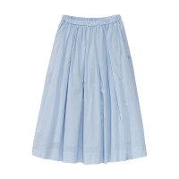 【1件2.5折叠券约:30.6,6月5日仅此一天】美特斯邦威女纯色休闲气质中长散裙半身裙