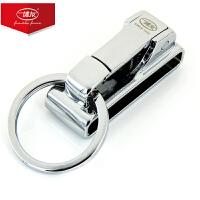 腰挂钥匙扣男商务男士皮带汽车钢圈扣环不锈挂件