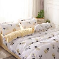 床上用品舒服斗笠床单四件套三件套儿童青年公主风春季布置防静电