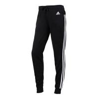 Adidas阿迪达斯女裤  2017新款运动训练针织小脚长裤  S97113