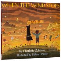 英文原版绘本 When the Wind Stops 风到哪里去了 英文版儿童科普科学启蒙绘本 进口英语书籍 正版现货