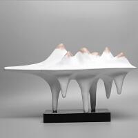 新中式创意家居家装摆件客厅玄关工艺品办公室桌酒店室内软装饰品