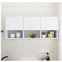 厨房吊柜墙壁柜挂柜橱柜阳台收纳储物柜顶柜浴室柜免拉手现代简约