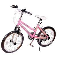 【当当自营】20寸碟刹变速自行车 禧玛诺碟刹 变速山地车 初中生礼物 粉色