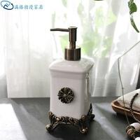 刷牙杯套装洗手间漱口杯浴室用品陶瓷结婚卫浴五件套礼物洗漱刷牙欧式浴室用品