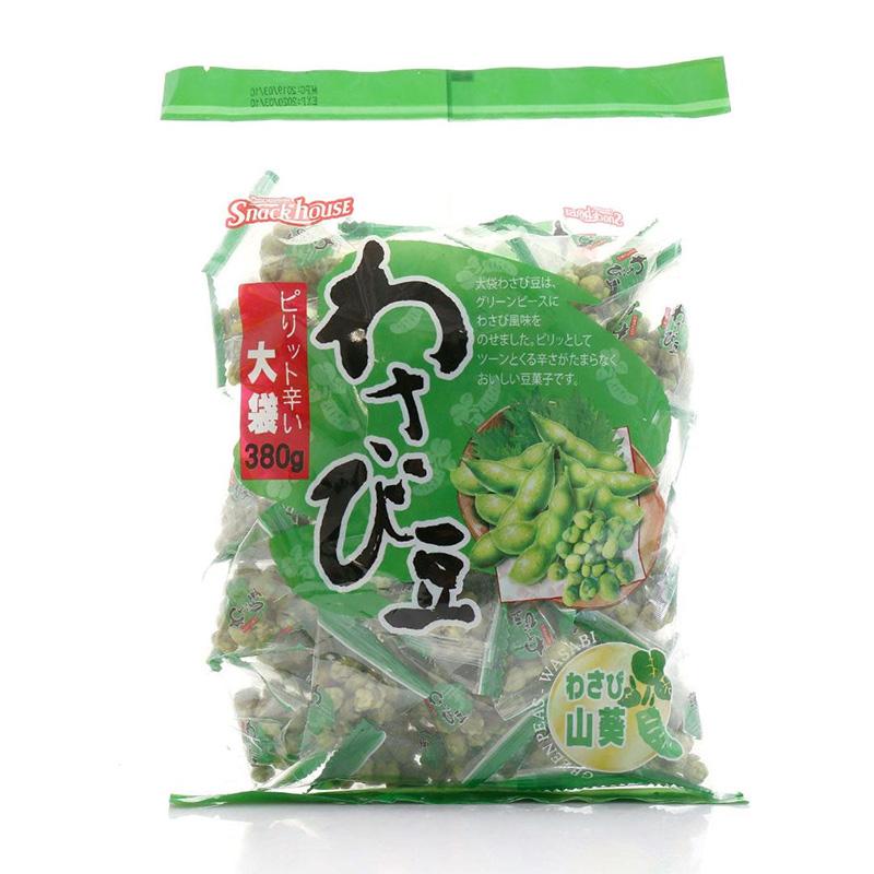 【中粮海外直采】Snack House零食屋芥末味大豌豆380g(越南进口 袋)