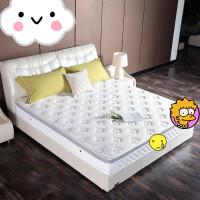 天然乳胶1.5米1.2独立弹簧椰棕垫1.8m定做床垫软硬两用