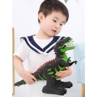 儿童电动恐龙玩具遥控霸王龙仿真动物模型加大号会走路的玩具男孩