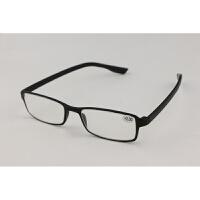 时尚舒适老花镜女阅读眼镜男黑色方框qg