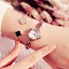 金米欧女士手表女表学生表石英表女款腕表韩版手链潮流水钻6119