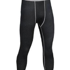 健身裤男篮球跑步训练裤弹力压缩速干裤运动紧身裤七分MA23