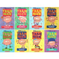 英文原版 Mensa Train Your Brain 8册 门萨挑战你的大脑系列 STEM数学奥数绿山墙 附答案