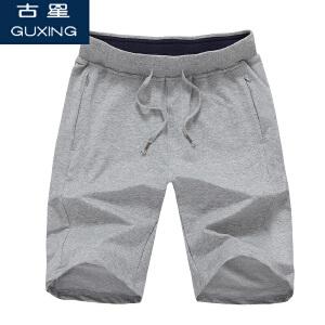 【口袋拉链】古星夏季新款五分裤男士运动短裤纯棉薄款透气跑步篮球裤休闲中裤