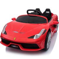 儿童电动车四轮遥控玩具车可坐人宝宝电动汽车小孩子婴儿摇摆童车