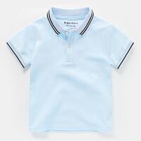 男童短袖POLO衫2018新款半袖T恤夏装夏季童装儿童宝宝小童1岁3潮2