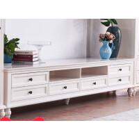 美式实木电视柜简约客厅家具套装小户型地柜储物柜茶几电视柜组合 整装