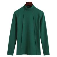 2018冬天半高领打底衫外穿修身百搭加厚加绒保暖内衣女士上衣