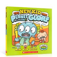 【全店300减100】动画廊2 外星小孩 英文原版进口 The New Kid from Planet Glorf 漫画