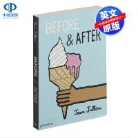 英文原版 Before and After 前后 低幼儿童英语启蒙绘本纸板书